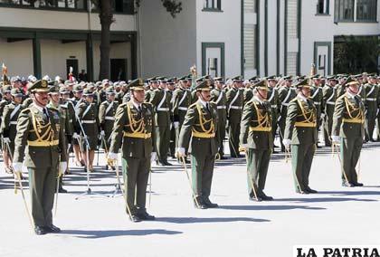 Coroneles de la Policía que aspiran ascender al grado de general