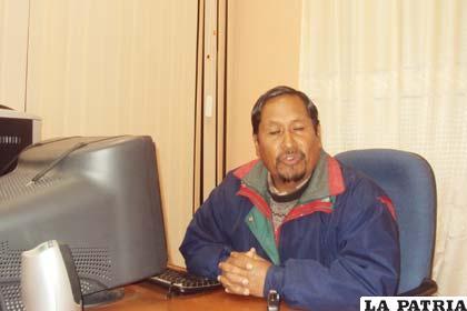 Hugo Ticona expresa que el desarrollo del departamento es retrasado en comparación al eje troncal