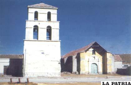 Antigua iglesia de Paria