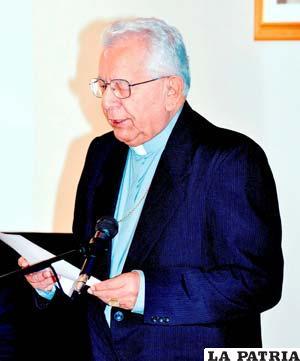 Una vez más el Cardenal Julio Terrazas exhortó a pacificar el país
