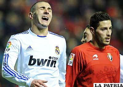 Alarmante derrota merengue, el Real Madrid sufrió su segunda derrota en La Liga a manos del Osasuna de Pamplona.