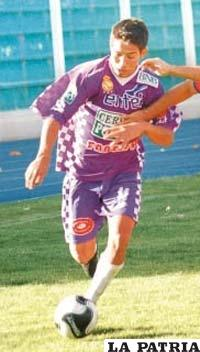 Dino Huallpa, goleador de Real Potosí
