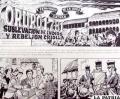 """Una fracción de la historieta que se incluye en la nueva edición de la revista """"Historias de Oruro"""""""