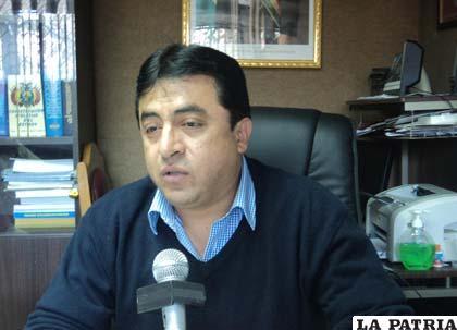 César Terán, representante distrital del Consejo de Judicatura