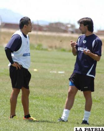 Salinas y Pintos jugadores de San José