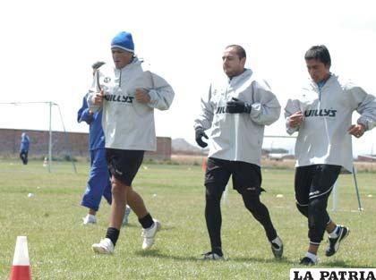 Palacios, Jáuregui y Ruth, jugadores de San José
