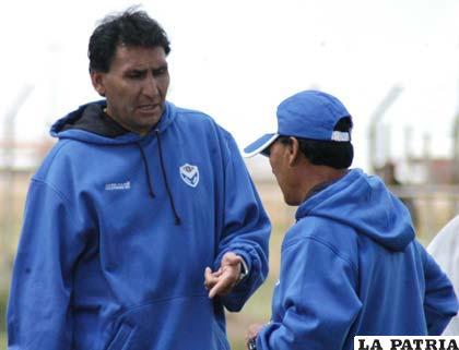 Marcos Ferrufino D.T. de San José
