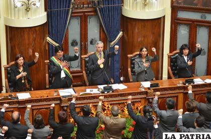 Evo Morales cuenta que creyó que sería linchado como el presidente Gualberto Villarroel durante su mensaje a la Asamblea Plurinacional
