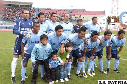 Jugadores del primer plantel de Bolívar