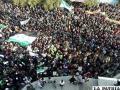 Algunos activistas temen que el país caiga en una guerra civil si la misión Árabe fracasa