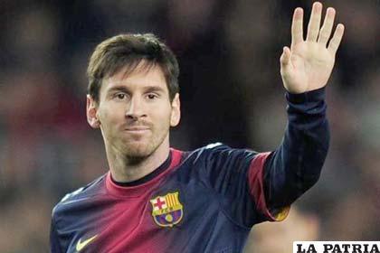 """Lionel Messi fue elegido como el """"Rey del fútbol de Europa"""", según diario uruguayo"""