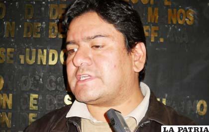 El diputado de Convergencia Nacional, Mauricio Muñoz (noticiasfides.com)
