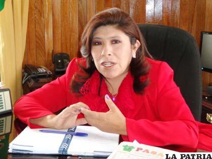 La alcaldesa Rossío Pimentel pidió unidad para el 2013