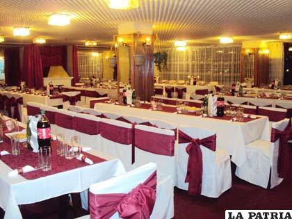El restaurant está listo para su reapertura