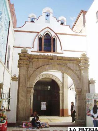 La iglesia de San Francisco, fue la antigua orden de la iglesia de la Merced