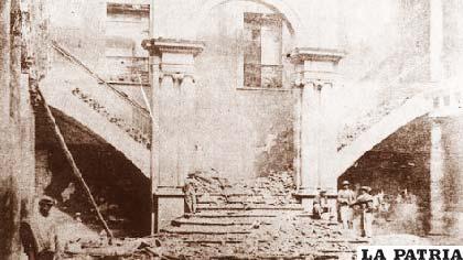 El Palacio Quemado guarda en sus muros la historia de Bolivia