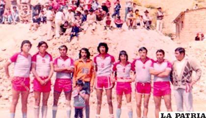Integrantes del Club Linares el año 1965 (foto: archivo)