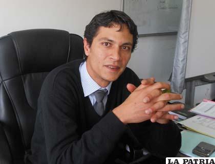 Marko Machicado, viceministro de Turismo