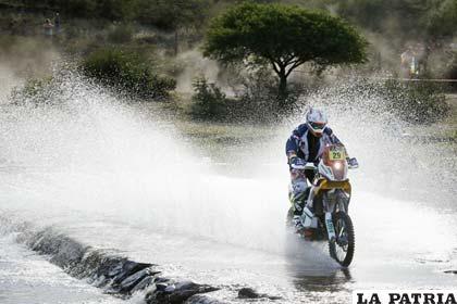 A pesar de todo, las motos culminaron la prueba