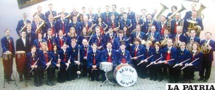 La banda de música alemana Malmsheim estará en el Carnaval de Oruro