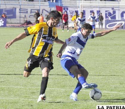 """La última vez que jugaron fue en Oruro el 8 de noviembre de 2012, venció el equipo """"atigrado"""" por 2-1"""