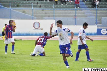 San José venció a La Paz FC por 6-3 el 16 de diciembre de 2012