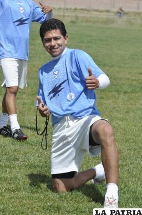 Carlos Saucedo quiere reencontrarse con las redes