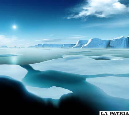 Rusia y Canadá pugnan por el control de los recursos minerales de Ártico