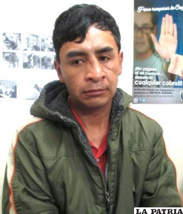 El sujeto fue identificado como Ramiro Morales Machado