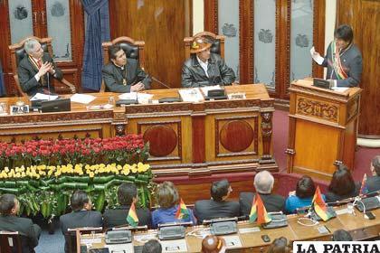 Presidente Morales anuncia que Bolivia desarrollará programa nuclear con fines pacíficos