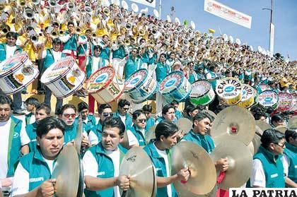 Festival de Bandas se celebrará el 22 de febrero