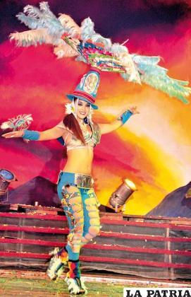 Nuevamente la belleza se fusionará con la moda y el Carnaval de Oruro