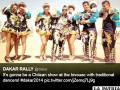 Promocionan el caporal como danza chilena