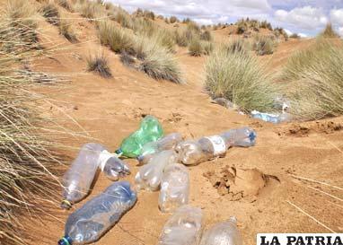 La contaminación se constituye en una amenaza, para los arenales de San Pedro