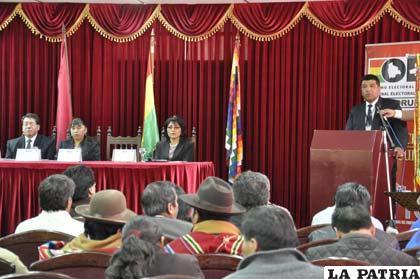 Acto de inauguración del Año Electoral 2015