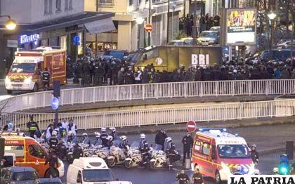 Efectivos del cuerpo de élite BRI asaltaron un supermercado judío en el este de París