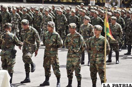 Jóvenes están listos para servir a la Patria