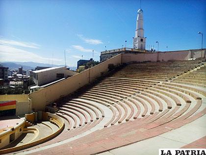 Teatro de Oruro igual a los del mundo griego