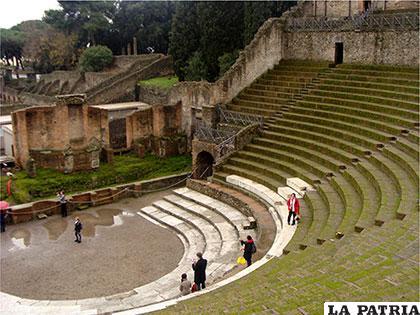 Teatro de Pompeya Italia