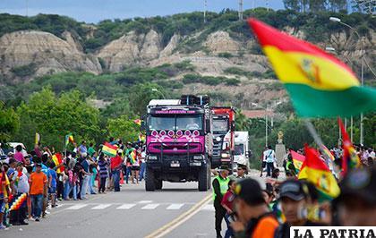 Bastante expectativa en Bolivia por el paso del Rally Dakar /APG