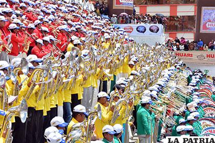Festival de Bandas, realza al Carnaval de Oruro