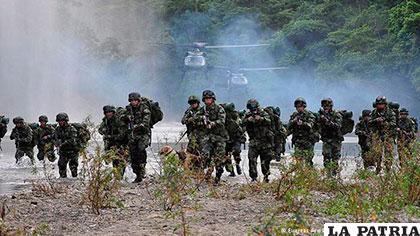 Operativo del Ejército permitió dar con el paradero de 15 personas retenidas por la guerrilla ELN