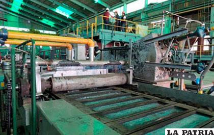 Entre muchos, restablecer la producción de Karachipampa es un reto para las autoridades del sector minero nacional