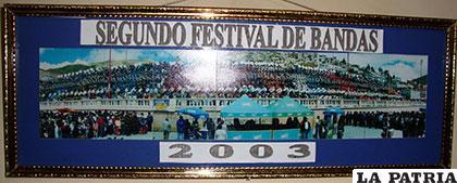 Imagen del segundo festival de bandas