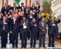 Morales seguirá confiando en sus ministros durante esta gestión /bp.blogspot.com