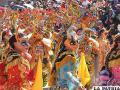 Bolivianos danzarán por las calles de Bruselas