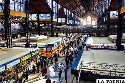 En 2013, el Nagycsarnok fue elegido el mercado más bello de Europa