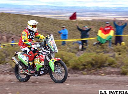 Pablo Quintanilla trepa al 2° lugar de la general — Motos