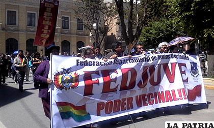 Vecinos piden que se respete decisión del referéndum del 21 de febrero pasado