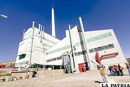 Parte de la inversión será requerida en la metalurgia